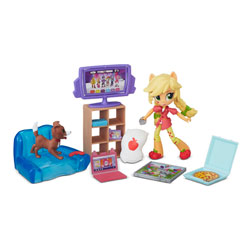 My Little Pony Mini Poupée 10 cm Univers - Chien Apple jack