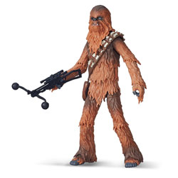 Chewbacca Star Wars figurine Deluxe Black series 15 cm