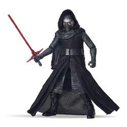 Kylo Ren Star Wars figurine Deluxe Black series 15 cm