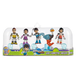 Pack de 5 figurines Miles - Humains