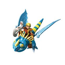 Figurine Dragon et son dresseur Astrid O
