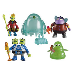 Pack de 5 figurines Miles, Aliens