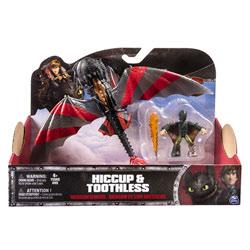 Figurine Dragon et Dresseur Hiccup et Toothless