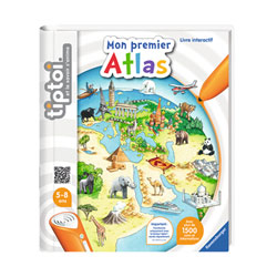 Tiptoi livre Mon premier Atlas