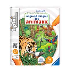 Tiptoi livre Imagier des animaux