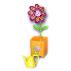 Fleur Magic Bloom violet et orange