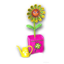Fleur Magic Bloom jaune et rose