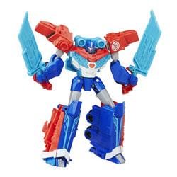 Transformers RID deluxe Warrior Optimus Prime rouge