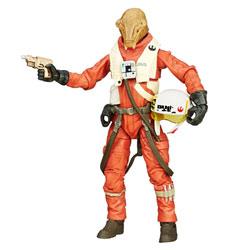 X Wing pilot Star Wars figurine Deluxe Black series 15 cm