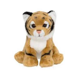Peluche de la jungle 14 cm tigre