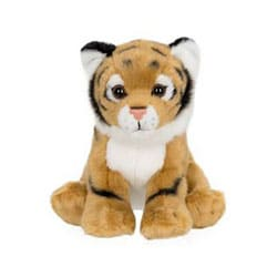 Peluche de la jungle 14 cm tigre
