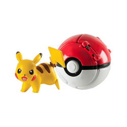 Pokemon throw'n pop pokéball - Pokéball pokémon foudre Pikachu