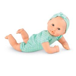 Mon premier Bébé Calin à Habiller 30 cm vert