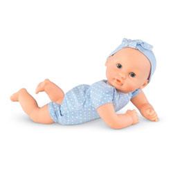 Mon premier Bébé Calin à Habiller 30 cm bleu