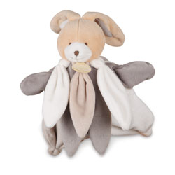 Marionnette collector Chien gris taupe