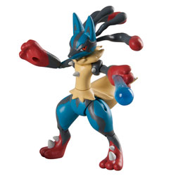 Figurine d'action Pokémon Mega Lucario