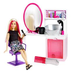 Barbie studio coiffure blonde
