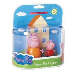 Peppa Blister 2 Figurines Maman Pig et Peppa