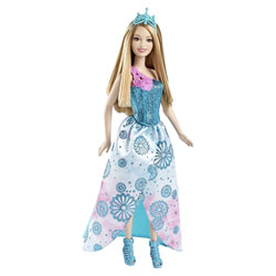 Princesses Barbie Fairytale bleu