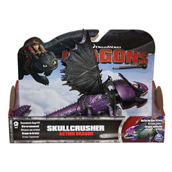 Figurine d'action Dragons Skullcrusher attaque bélier