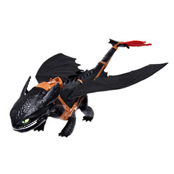 Figurine d'action Dragons Krokmou queue catapulte