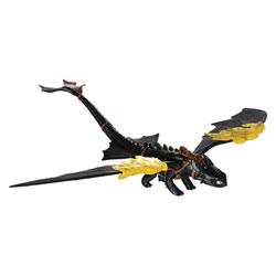 Figurine d'action Dragons Thoothless descend en vrille