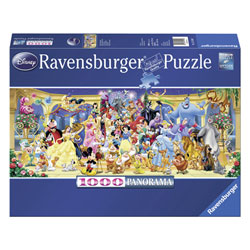 Puzzle 1000P Photo de groupe Disney