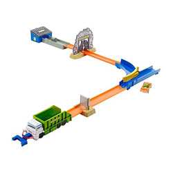 Hot Wheels piste à propulsion Container-Krasher
