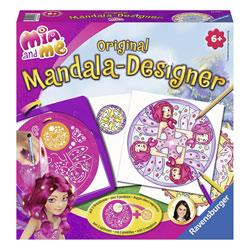 Mandala Designer fées et licornes