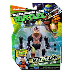 Tortue Ninja mutations figurine 12cm Bebop + bras tmnt
