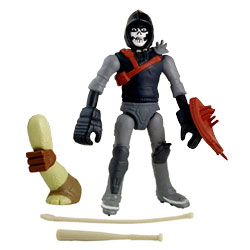 Tortue Ninja mutations figurine 12cm Casey Jones + jambe tmnt