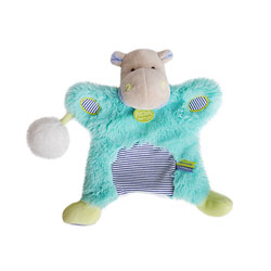Marionnette Pistache Lovely Hippopotame
