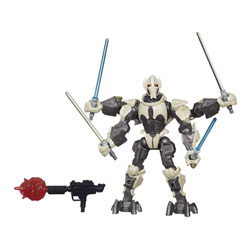 Star Wars Hero Mashers figurine Deluxe General Grievous
