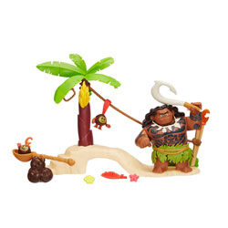 Poupées Mini aventures Dieu Maui et de Kakamora - Vaiana - Disney Princesses