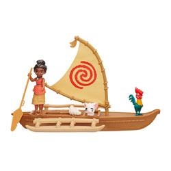 Poupées Vaiana Mini aventures en pirogue - Disney Princesses