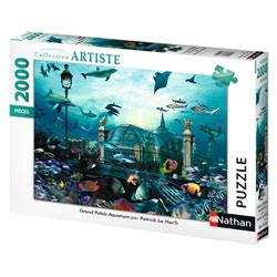 Puzzle 2000P Nathan Grand Palais Aquarium