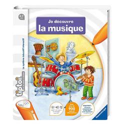 Tiptoi livres  Imagier Je découvre la musique