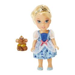Poupée Cendrillon enfant 15 cm et Gus - Disney Princesses