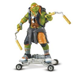 Tortues Ninja figurines 12cm Mikey