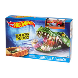 Hot Wheels piste créature Crocodile crunch