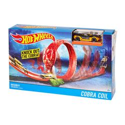 Hot Wheels piste créature Cobra Coil