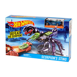 Hot Wheels piste créature Scorpion's Sting