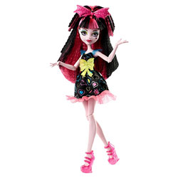 Monster High-Coiffure électrisante Draculaura