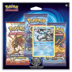 Pokemon pack 3 boosters xy12 Kyurem Noir