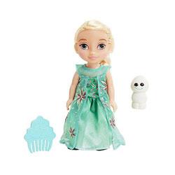 Poupée Reine des Neiges 15cm Elsa & Snowgie