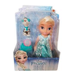 Poupée Reine des Neiges 15cm Elsa & Olaf