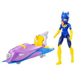 Figurine et véhicule DC Super Hero Girls Batgirl