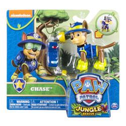 Figurine Chase Sac à Dos Paw Patrol Jungle Rescue
