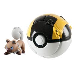 Pokemon throw'n pop pokéball - Hyper ball avec pokémon Rocabot