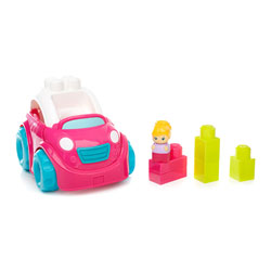 Lil véhicule décapotable rose